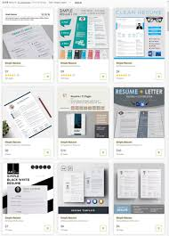 25 Best Job Resume Templates With Simple Professional Designs 2019