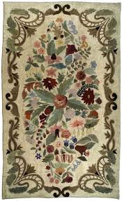 tempting hand hooked wool rugs 404 best rug hooking fl plants images on rugs for apply to your home improvement