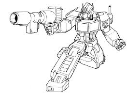 Coloring Page Coloring Page Free Printable Transformer Pages 18l