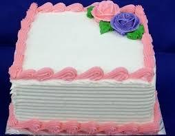 Square Birthday Cakes Abc Birthday Cakes