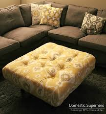 04 domestic superhero diy tufted ottoman from a