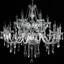 french provincial glass chandelier 18 arms 12 6 ceiling lights lighting clear unbranded