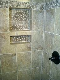 how to replace shower tile installing bathroom great installation fiberglass with cost fiberglas
