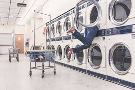 Image result for FIGHTING AT A  LAUNDROMAT