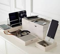 wireless charging station with usb port pottery barn