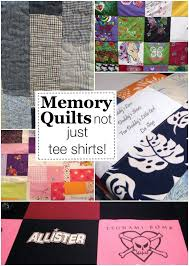 Memory Quilts: Not Just for T-Shirts! - The Sewing Loft & Learn how to turn those out worn clothing items into a one of a kind memory Adamdwight.com