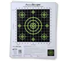 Accuscope Paper Targets