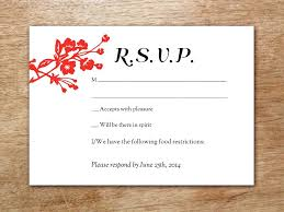 Rsvp Card Ideas Wedding Invitations With Free Cards Nice Template