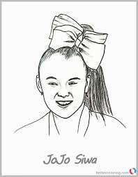 81 Astonishing Photograph Of Jojo Siwa Coloring Pages Best Of