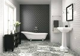 white floor tiles bathroom. Black And White Bathroom Tile Wall Tiles Accent  Floral Scheme From Floor L