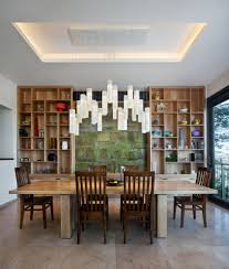 blown glass chandelier dining room contemporary with all lighting art glass art glass lighting