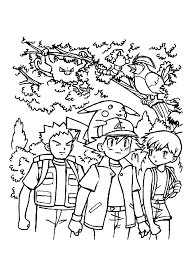 Pokemon In Het Bos Pokemon Kleurplaten Kleurplaatcom