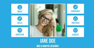 sample resume websites