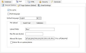 create xlsx file in php design corral
