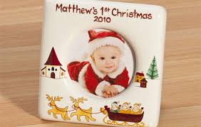 Baby's First Christmas Picture Frame ...