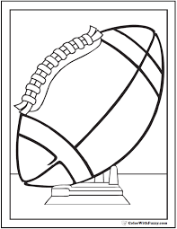 Print coloring pages by moving the cursor over an image and clicking on the printer icon in its upper right corner. 33 Football Coloring Pages Customize And Print Ad Free Pdf
