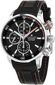 montblanc timewalker chronograph 107063 mens 43mm automatic watch maurice lacroix pontos s chronograph men s black dial black rubber strap swiss automatic watch