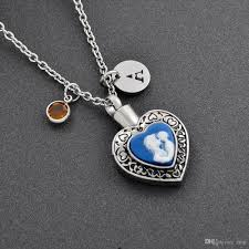 whole mom and child heart urn cremation jewelry family member loss cremation urn pendant necklace women memorial jewelry for ashes heart necklace