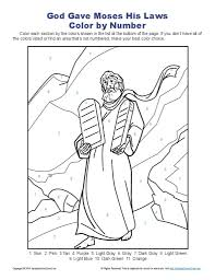 Free Printable Ten Commandments Coloring Pages 13 Mapleton Nurseries