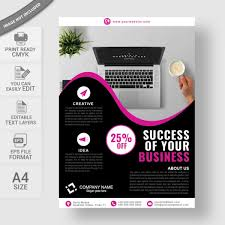 Creative Business Flyer Template Free Download Wisxi Com