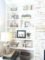 hanging shelves on brick wall elegant hanging paintings on brick walls hang shelves brick wall