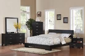 London Bedroom Furniture Acme London Eastern King Platform Bed In Black 20057ek