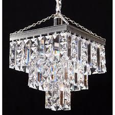 fantastic lighting. fantastic lighting 180/8/1 tempo 3 tier pendant crystal square \u0026 lozenge i