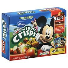 Brothers All Natural <b>Fruit Crisps Disney</b> Mickey Mouse Clubhouse ...