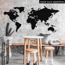 25 unique world map wall art ideas