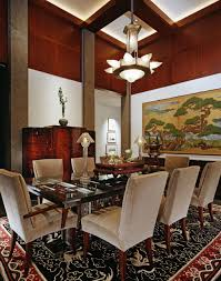 Asian Inspired Interior Design - Asian inspired dining room