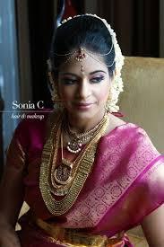 indian fusion wedding south asian bridal makeup look