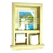 wall mount magazine rack toilet. Magazine Rack Wall Recessed  And Toilet Paper Mount A
