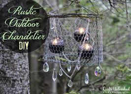 rustic outdoor chandelier project country chandelier