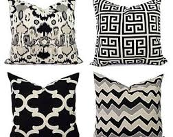 black and cream pillows. Delighful Black Black Throw Pillow Cover Black And Beige  20 X Inch 18  16 Cream Pillows Throughout And V