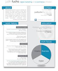 sample resume for digital marketing career brandneux com work graphic resume