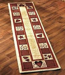 revamp a room in minutes with these decorative rug collections the rugs add color coziness and impressive rooster runner rug of for kitchen country