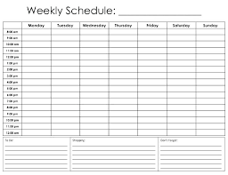 Printable Daily Calendar Template 2017 Planner Blank Tailoredswift Co