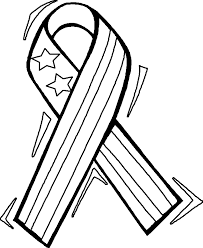 memorial day 4 coloring page