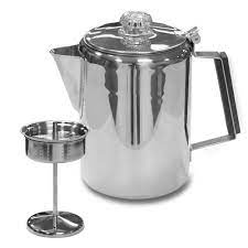 If you don't have a bale on the coffee pot it will be harder to use in the campfire. How To Make Coffee With A Camping Percolator By Adventure Experiments Medium