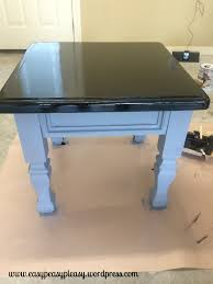 diy refinishing furniture without sanding. no need to sand furniture before painting. check out www.easypeasypleasy.wordpress. diy refinishing without sanding o