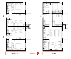 office design floor plans. Three Sleek Apartments Under 1500 Square Feet From All In Studio (Includes Floor Plans) Office Design Plans
