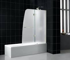 showers frosted glass shower door frameless showers aqua tub bathtub interior bathroom alternatives sterling sliding