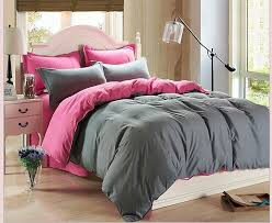 hotel home plain solid color bedding sheet color duvet cover set
