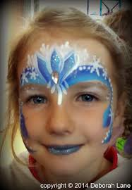 how to face paint elsa from frozen 12 s with pictures