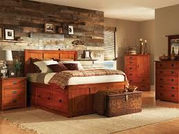 Mission Bedroom Furniture American Mission Ii Pedestal Bed Bedroom Suite Hom Furniture