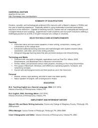 English Teacher Resume Resume Format Curriculum Vitae Sample ...