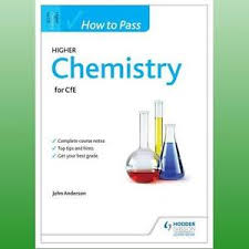 how to pass higher chemistry for cfe anderson john  image is loading how to pass higher chemistry for cfe anderson
