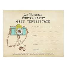 Gift Certificate Wording Photography Gift Certificate Wording Photographer Photography Gift