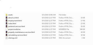 All my pages ending with .html uploaded to cPanel (Except .index ...