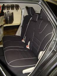 toyota venza full piping seat covers